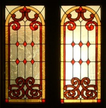 Great Room stained glass window